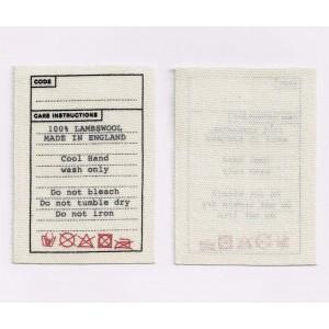 Printed label-004