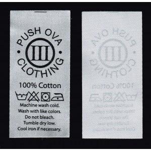 Printed label-008